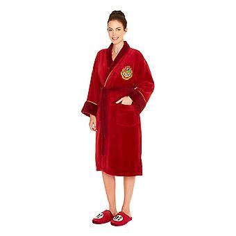 Harry Potter Hogwart Express Fleece Hoodless Robe damskie dorosły jeden rozmiar
