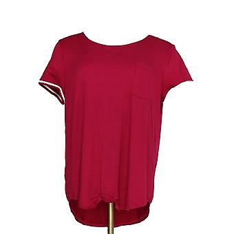 Cuddl duds kvinder ' s sleepshirt cool & luftig Jersey lilla A346857