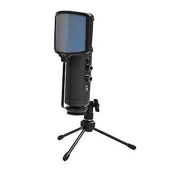 Mikrofon stołowy KEEP OUT XMICPRO USB Streaming LED Black