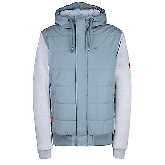 Alife & kickin Men's Quilted Jacket Daniel Padded-Jacket with Hood Smoke Size M-XL