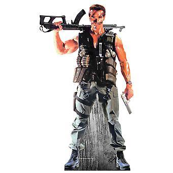Arnold Schwarzenegger Lifesize découpe de carton / voyageur debout / stand-up
