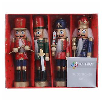 Christmas Shop Traditional Nutcrackers (Set Of 4)