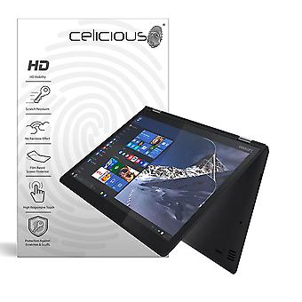 Celicious Vivid Invisible Glossy HD Screen Protector Film Compatible with Lenovo Yoga 510 (14 inch) [Pack of 2]