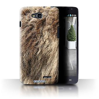 STUFF4 Case/Cover for LG L90/D405/Wolf/Animal Fur Effect/Pattern