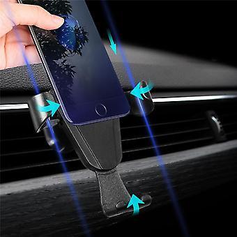 Staffa di montaggio del telefono con presa d'aria universale per samsung iphone x iphone 8 xiaomi