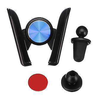 Universal auto lock sticky 360 degree rotation car stand dashboard air vent holder for mobile phone