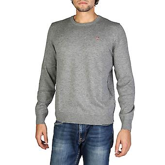 Napapijri Original Men Fall/Winter Sweater - Grey Color 32449