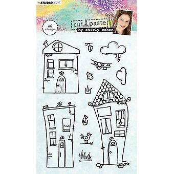 Studio Light A6 Clear Stamp Shirly Cohen Number 03