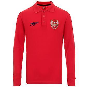 نادي آرسنال لكرة القدم الرسمية هدية الأولاد قميص بولو الأكمام الطويلة