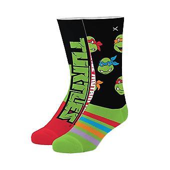 Teenage Mutant Ninja Turtles Sublimated 360 Crew Socks