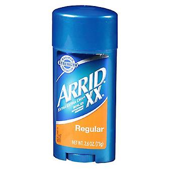 Arrid xx antiperspirant & deodorant solid, regular, 2.6 oz
