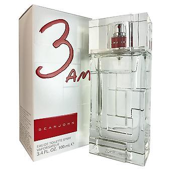 3 Am for men by sean john 3.4 oz eau de toilette spray