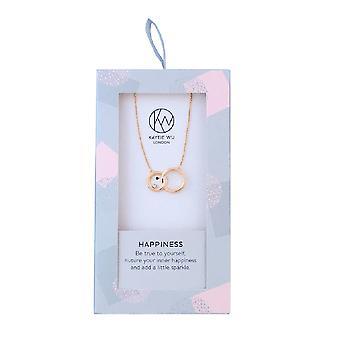 Kaytie Wu Womens/Ladies Happiness Short Necklace
