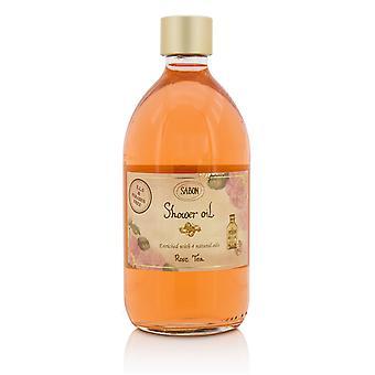 Shower oil rose tea 211470 500ml/17.59oz