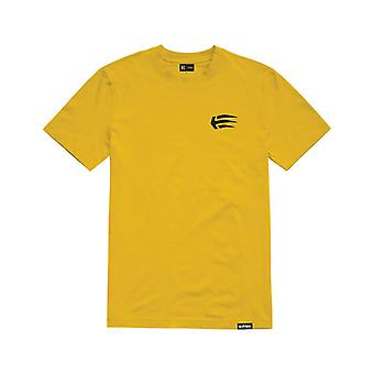 Etnies Joslin Camiseta de Manga Curta em Amarelo