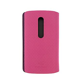 Motorola Flip Shell Case voor Motorola Droid Maxx 2 (Roze)
