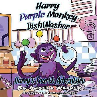 Harry Purple Monkey Dishwasher Harrys Fourth Adventure by Walker & Angela