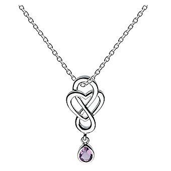 Heritage�?�Collana da donna - in argento Sterling 925�9204�AM - argento - colore: Viola - cod. 9204AM