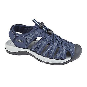 PDQ Womens/Ladies Superlight Floral Print Sports Sandals
