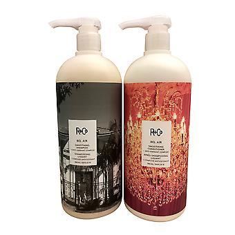 R&Co Bel Air Smoothing Shampoo & Conditoner Set 33.8 OZ Each