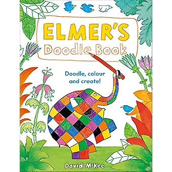Elmer's Doodle Book by David McKee - 9781783446360 Book