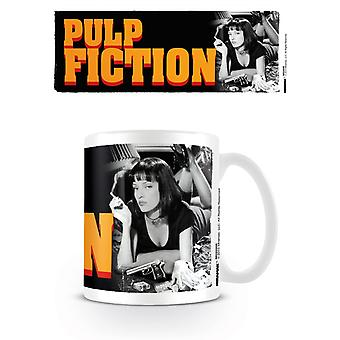 Pulp Fiction Mia Uma Thurman Becher
