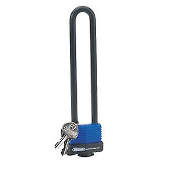 Draper 62952 U Bar Extra Long Shackle Lock With 2 Keys