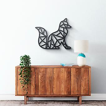 Metal Wall Art - Geometrical Fox