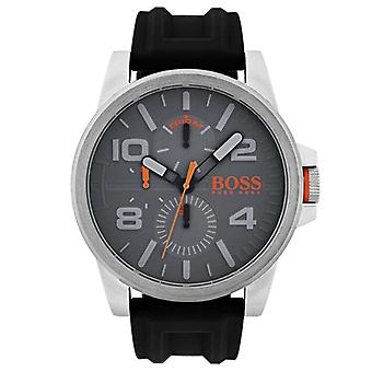 Hugo Boss 1550007 Quartz Stainless Steel and Silicone Casual Men's Watch