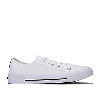 Men's NICCE Kansas Low Trainers in White