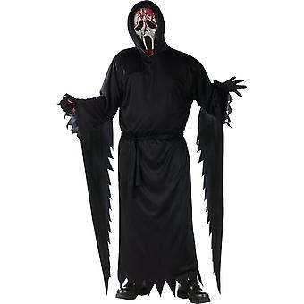 Face Bleeding Ghost Adult Costume