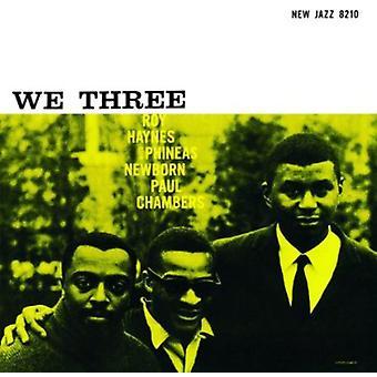 Haynes / Newborn / Chambers - We Three [Vinyl] USA import