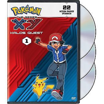 Pokemon the Series: Xy Kalos Quest Set 1 [DVD] USA import
