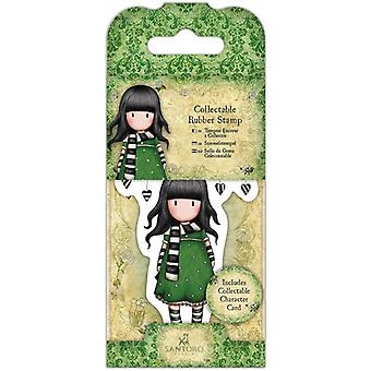 Gorjuss Collectable Mini Rubber Stamp No. 26 The Scarf