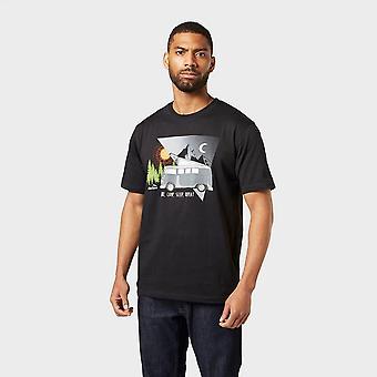 Peter Storm Men's Camper Kurzarm T-Shirt schwarz