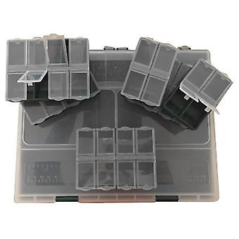 Fladen 10 Section Box Plus 6 Bits Boxes Natural