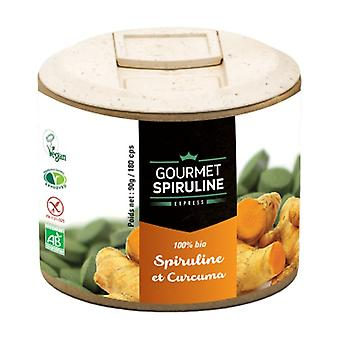 Spirulina Organic Turmeric Pill Pill Tablets 180 tablets