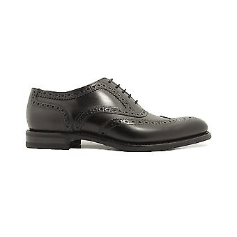 Loake Kerridge Black Calf Leather Mens Oxford Shoes