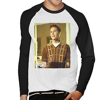 American Pie Chuck Sherman Men's Baseball Long Sleeved T-Shirt
