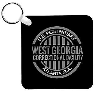 West Georgia Correctional Facility Walking Dead Keyring