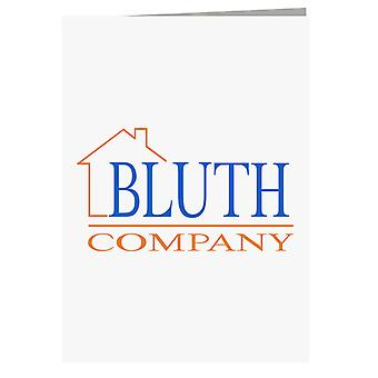 Arrested Development Bluth Company Logo Greeting Card