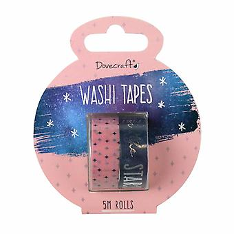 Dovecraft Everyday Planner Time To Shine Washi Tapes