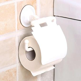 Waterproof, Plastic, Wall Mounted- Toilet Paper Roll Holder