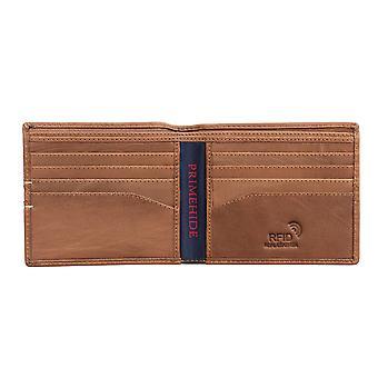Primehide Mens Carteira de cartão de couro RFID Bloqueando Gents Notecase Card Holder 4802
