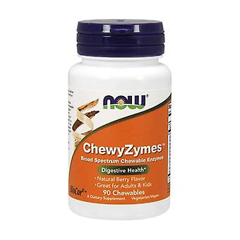 Chewyzymes 90 chewable tablets