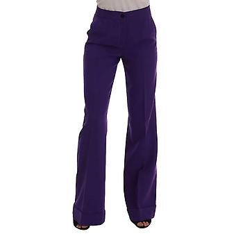 Mor Yün Flare Pantolon - BYX1262960