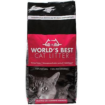 Worlds Best Cat Litter Multiple Clumping Formula - 3.18kg