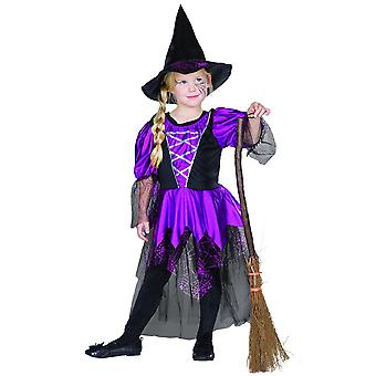 Witch Purple Kids Puku Spider Noita Noita Puku Halloween