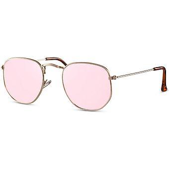 نظارات شمسية للجنسين الذهب / الوردي (CWI2410)