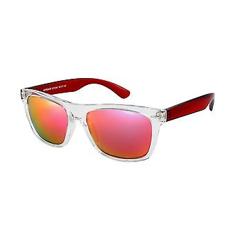 Sunglasses Unisex red with red lens ZO0008C